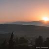 Metula 6 AM, sunrise over Mt. Hermon