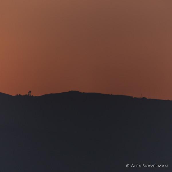 Metula 6 AM red dawn