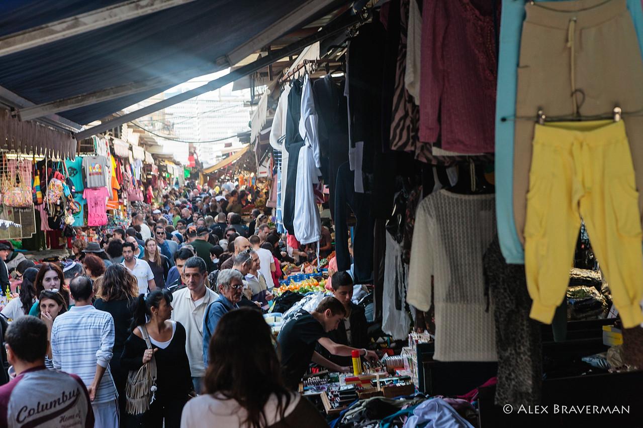 The Mess of Shuk HaCarmel, Tel Aviv