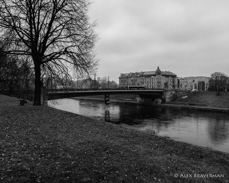 River Neris, November, #676-7