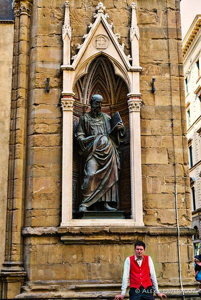 St. John the Evangelist, Orsanmichele