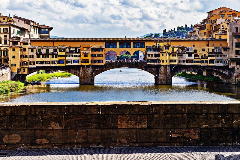 Ponte Vecchio by the thirds