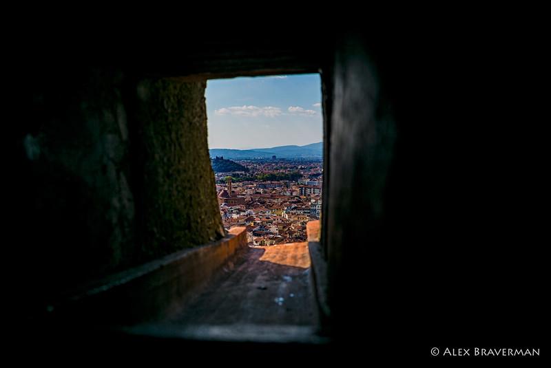 Through the slits of Duomo, #3