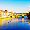 iconic shot of Ponte Vecchio