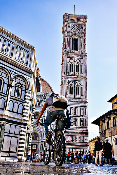 the tower and the bicycle