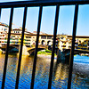 blocking off Ponte Vecchio