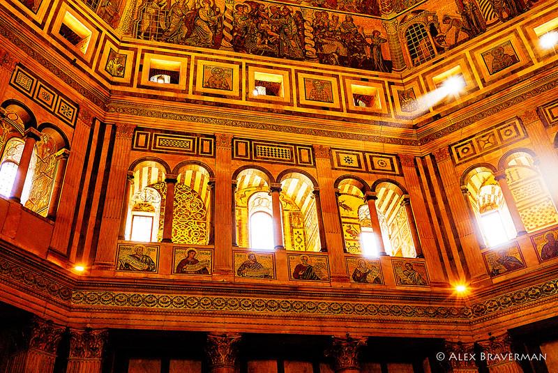 Light inside Baptistry #2