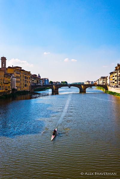 rowing Arno