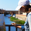 painting Ponte Vecchio up close