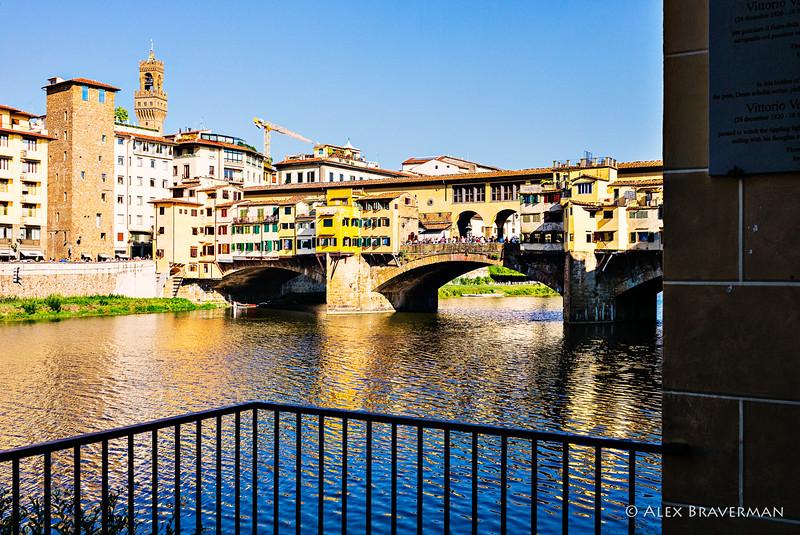 an angle at Ponte Vecchio