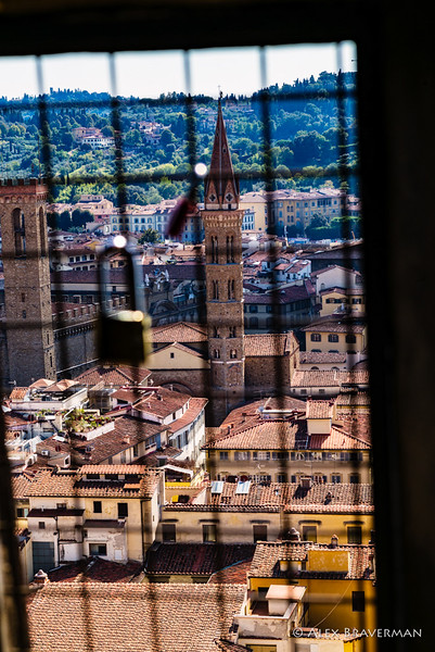 Through the slits of Duomo, #2