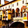 tourists of Ponte Vecchio