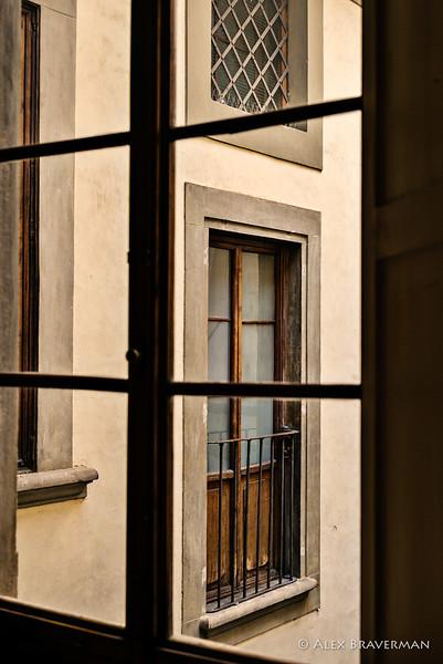 Casa Buonarroti, the inner yard