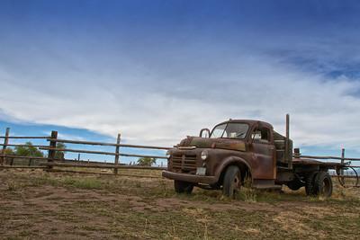 Pick Up Truck at Garr Ranch