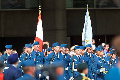 Presentation of Colours to the RCAF