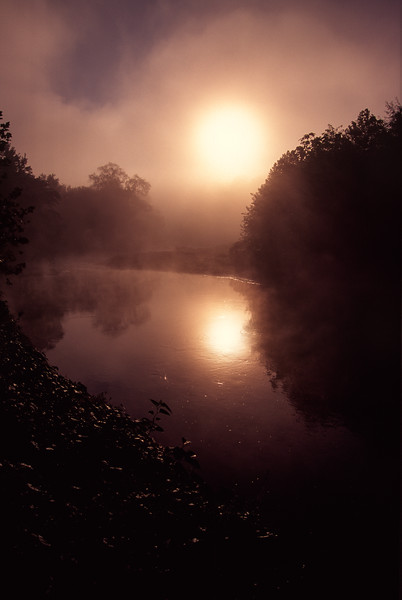 Cuyahoga River Sunrise