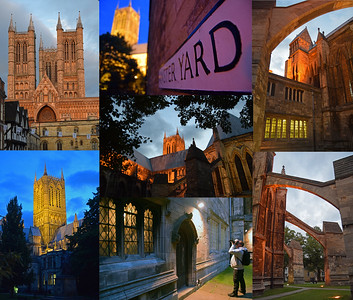 06.09.15 - Around Lincoln Cathedral at Dusk  Some more shots from my guided photo walk on Friday