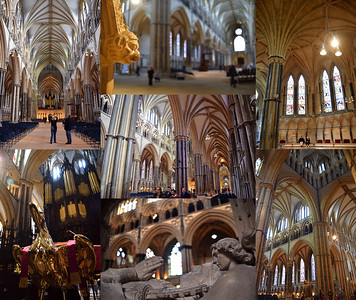 """28.03.15 - Lincoln Cathedral  It is a long time since I posted any shots from inside the cathedral as my Daily. This weekend is """"Discover Lincolnshire Weekend"""" when many places, including the cathedral, waive their entry fees to encourage more people to visit. Lincoln Cathedral is over 900 years old, the 3rd largest gothic cathedral in Europe and for over 200 years was the tallest building in the world. It is hard to find new views of such a well photographed building, but I keep trying"""