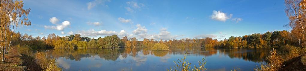 Swanholme Nature Reserve Panorama