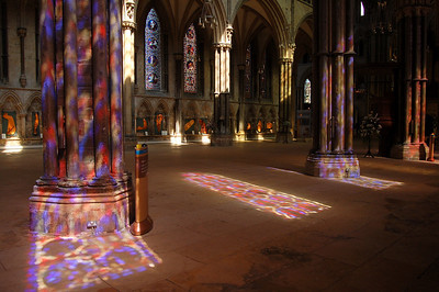 21.08.11 - Holy Light  It was a hot humid day, so I spent the afternoon in Lincoln Cathedral where it was nice and cool. It also happened that the light was utterly magical. I've added many more shots like this to my Cathedral gallery here; http://www.lightanddreamsphotography.com/gallery/4562724_EH5v6#1442390197_6NhSCKH