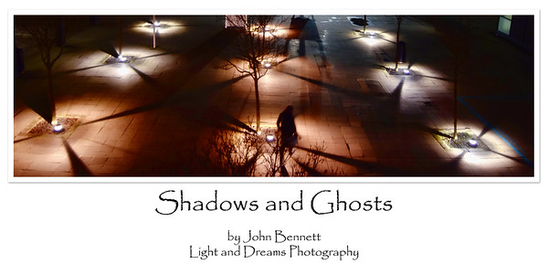 14.01.15 - Shadows and Ghosts  I had so many positive comments about this image when it was part of a collage that I have now edited it slightly and made it available as a fine art poster. Although I try to take a wide variety of photographs it is this style that gives me most pleasure personally. I like to try and find a little bit of magic or drama in every day scenes, they are all around us, but we miss most of them.