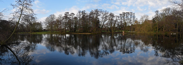 16.12.14 - Serenity  This is a 2 shot photomerge panorama of Boultham Park lake yesterday. I had to go into town in the morning and shot this on the way home. The park is slightly off my route, but I often take it to check out the photo opportunities and I'm glad I made the detour yesterday