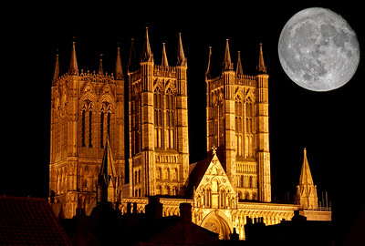 11.11.17 - Cathedral and Moon