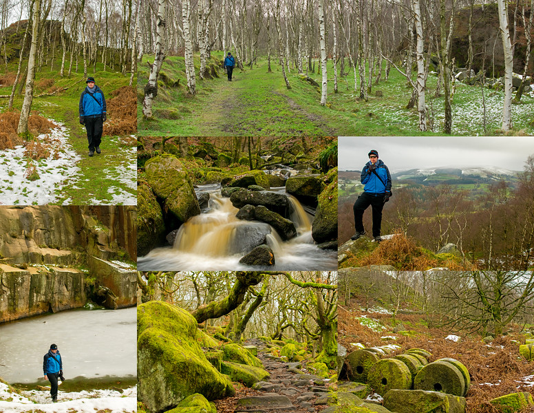 16.12.17 - Longshaw and Padley Gorge