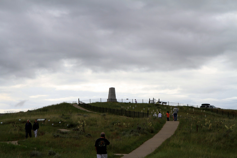 Custer's Last Stand Hill