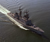 USS Arthur W. Radford (DD-968)<br /> <br /> Date: May 6 1977<br /> Location: Hampton Roads VA<br /> Source: Nobe Smith - Atlantic Fleet Sales