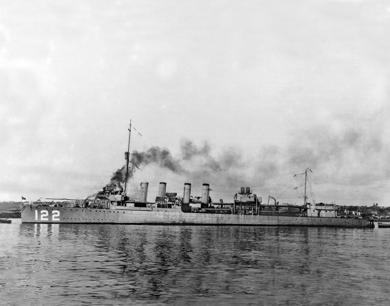 USS Breese (DD-122)