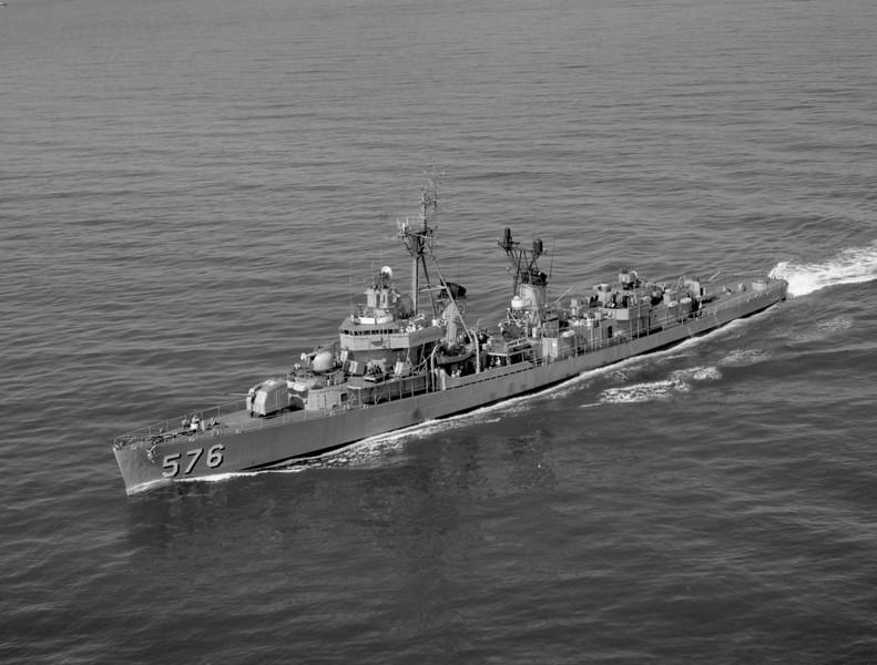 USS Murray (DD-576)<br /> <br /> Date: June 1964<br /> Location: Hampton Roads VA<br /> Source: Nobe Smith - Atlantic Fleet Sales