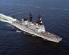 USS Spruance (DD-963)<br /> <br /> Date: January 26 1983<br /> Location: Hampton Roads VA<br /> Source: Nobe Smith - Atlantic Fleet Sales