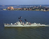 USS Mullinix (DD-944)<br /> <br /> Date: August 30 1974<br /> Location: Hampton Roads, VA<br /> Source: Nobe Smith - Atlantic Fleet Sales