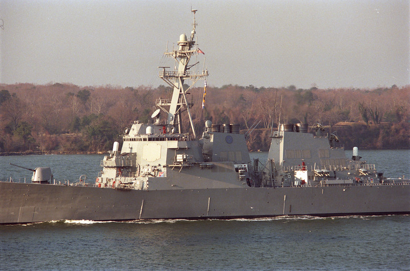 USS McFaul (DDG-74) (Detail)