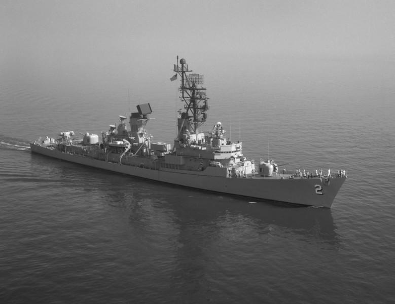 USS Charles. F. Adams (DDG-2)