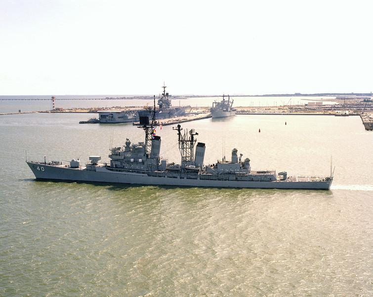 USS Coontz (DDG-40)