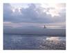 EARLY MORNING BEACH BIKER