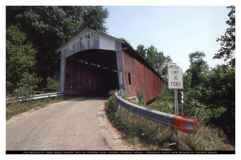 BROUILLETTS CREEK BRIDGE