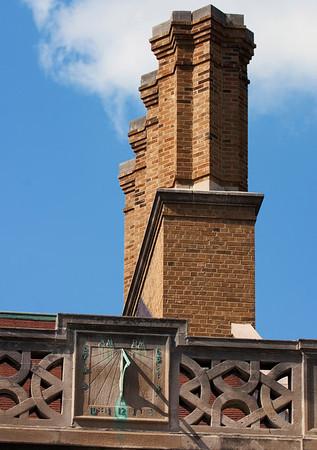 Chimney-Sundial-Bent