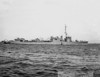 USS Long (DMS-12)<br /> <br /> Date: October 30 1943<br /> Location: Mare Island CA<br /> Source: William Clarke - National Archives