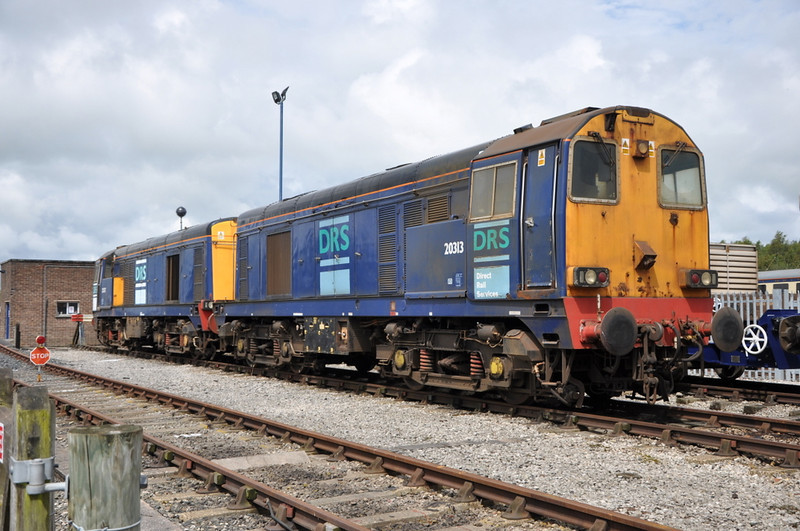 20313 and 20307, Carlisle Kingmoor.