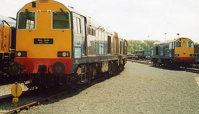 20301, 20302 and 20314. Carlisle Kingmoor.  June 2003.