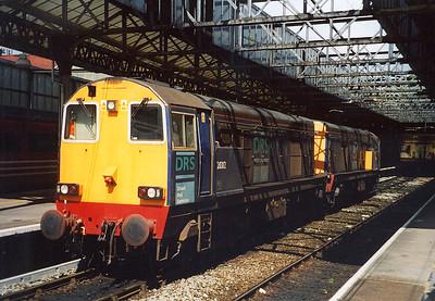 20312 and 20306. Crewe. May 2003.