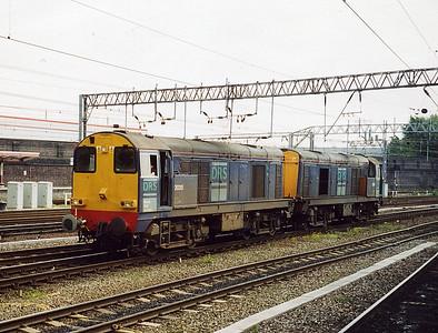 20315 and 20312. Crewe. May 2003.