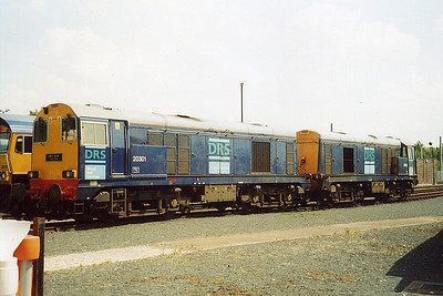 20301 and 20302. Carlisle Kingmoor. June 2003.