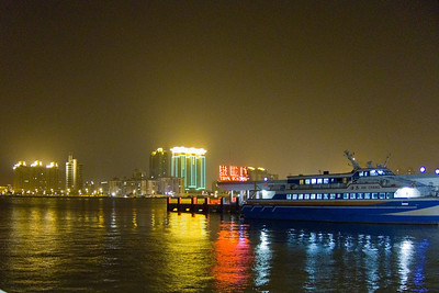 Harbor view at Zhuhai.