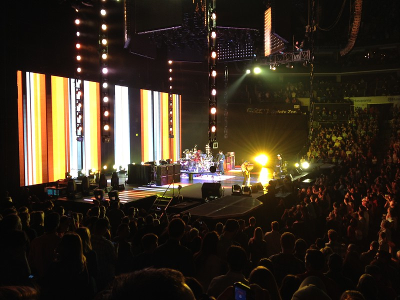RHCP in CLT April 07, 2012
