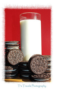 """Oct. 20. """"O"""" is for Oreos!  """"Milk's favorite cookie"""" and mine too!"""