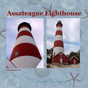 Aug.17.  Assateague Lighthouse.  Assateague Light is the 142-foot-tall (43 m) lighthouse located on the southern end of Assateague Island off the coast of the Virginia Eastern Shore, USA. The lighthouse is located within the Chincoteague National Wildlife Refuge and can be accessed by road from Chincoteague Island over the Assateague Channel. It is owned by the U.S. Fish and Wildlife Service and operated by the U.S. Coast Guard and is still used as an active aid in navigation. The keeper's quarters are used as seasonal housing for refuge temporary employees, volunteers, and interns. Constructed in 1867 to replace a shorter lighthouse 45-foot-tall (14 m) built in 1833, the lighthouse is conical in shape and is painted in alternating bands of red and white.  Wikipedia.